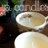 DIY Teacup Candles (And Cordial Glass Candles!)